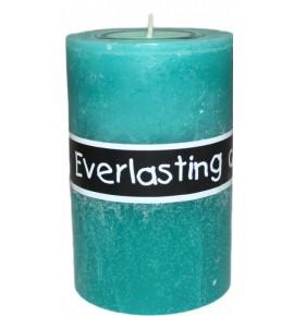 EVERLASTING 80/120 TURKUS - świeca na podgrzewacze