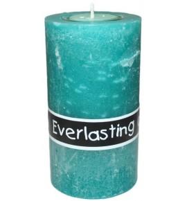 EVERLASTING 80/140 TURKUS - świeca na podgrzewacze