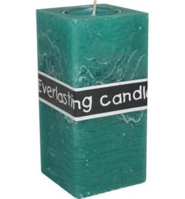 EVERLASTING 65/65/140 TURKUS - świeca na podgrzewacze