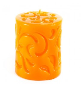 POMARAŃCZ 80/100 - świeca 3D florencka