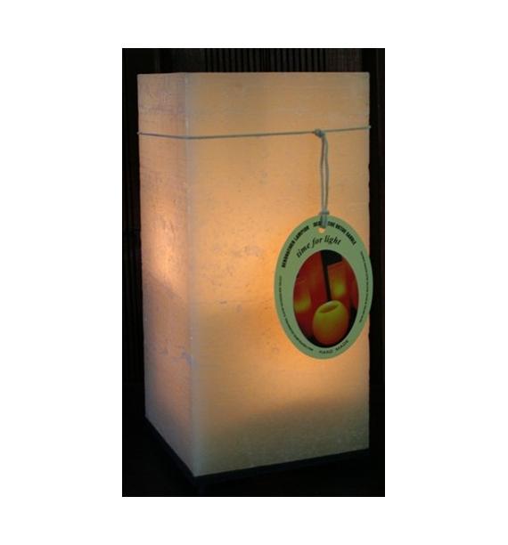 Kwadrat Ecrue 150/150/300 - lampion Exclusive Candle