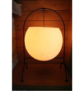 Kula Ecrue & Stojak D300 - lampion Exclusive Candle