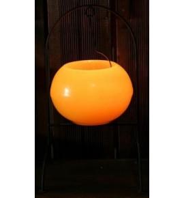 Kula Żółta D215 & Stojak DUŻY - lampion Exclusive Candle
