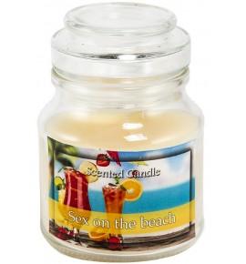 Sex on the beach - świeca zapachowa w słoiczku