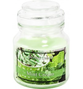Mint Cream - świeca zapachowa w słoiczku