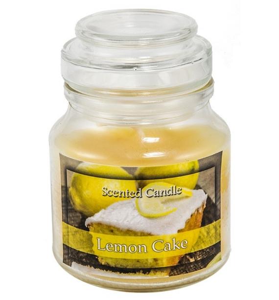 Lemon Cake - świeca zapachowa w słoiczku