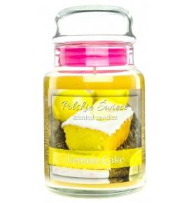 Lemon Cake - świeca zapachowa w dużym słoju 600g