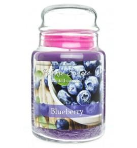 Blueberry - świeca zapachowa w dużym słoju 600g