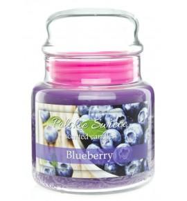 Blueberry - świeca zapachowa w średnim słoju 430g