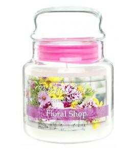Floral Shop - świeca zapachowa w średnim słoju 430g