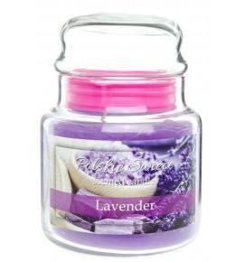 Lavender - świeca zapachowa w średnim słoju 430g