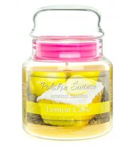 Lemon Cake - świeca zapachowa w średnim słoju 430g