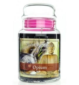 Opium - świeca zapachowa w dużym słoju 600g