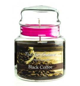 Black Coffee - świeca zapachowa w średnim słoju 430g