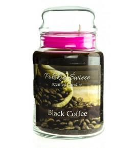 Black Coffee - świeca zapachowa w dużym słoju 600g