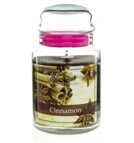 Cinnamon - świeca zapachowa w dużym słoju 600g