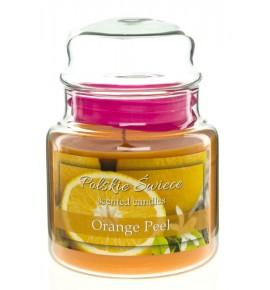 Orange Peel - świeca zapachowa w średnim słoju 430g