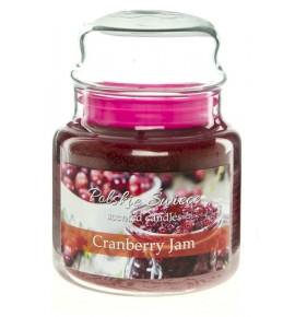 Cranberry Jam - świeca zapachowa w średnim słoju 430g
