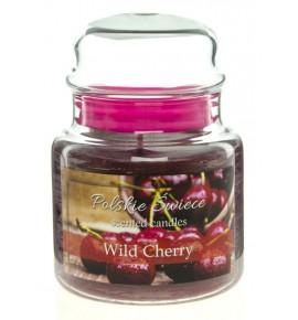Wild Cherry - świeca zapachowa w średnim słoju 430g