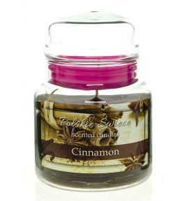 Cinnamon - świeca zapachowa w średnim słoju 430g