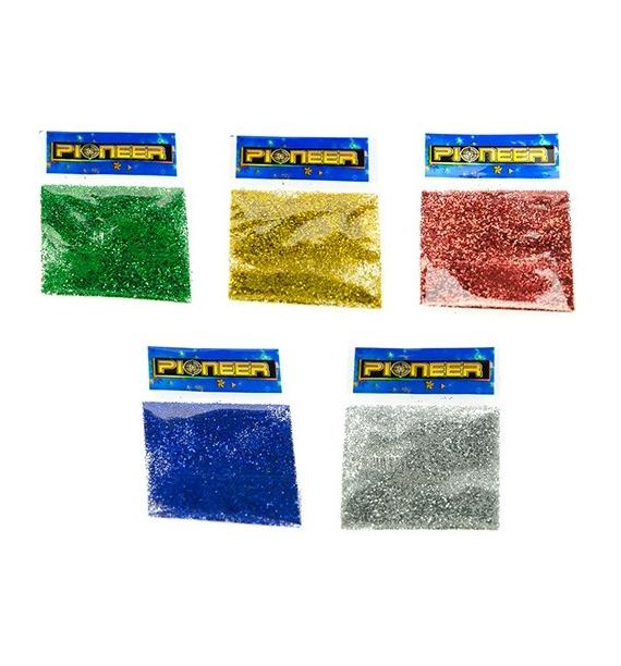 Zestaw brokatów - 5 kolorów