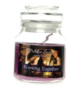 Evening Together - świeca zapachowa w słoiczku