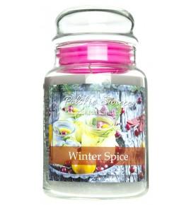 Winter Spice - świeca zapachowa w dużym słoju 600g