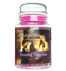 Evening Together - świeca zapachowa w dużym słoju 600g