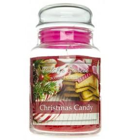Christmas Candy - świeca zapachowa w dużym słoju 600g
