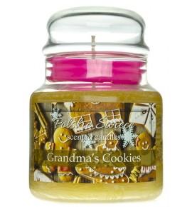 Grandma's Cookies - świeca zapachowa w średnim słoju 430g