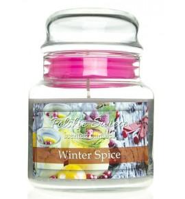 Winter Spice - świeca zapachowa w średnim słoju 430g
