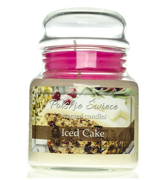 Iced Cake - świeca zapachowa w średnim słoju 430g