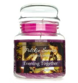 Evening Together - świeca zapachowa w średnim słoju 430g