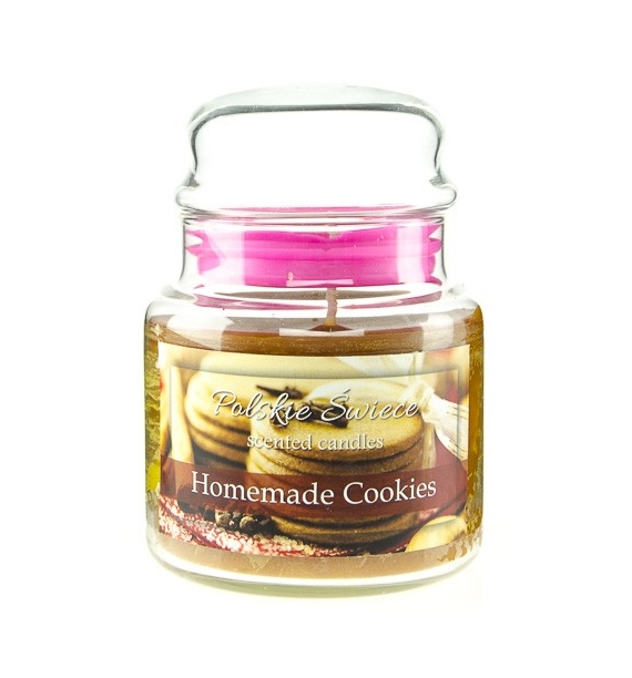 Homemade Cookies - świeca zapachowa w średnim słoju 430g
