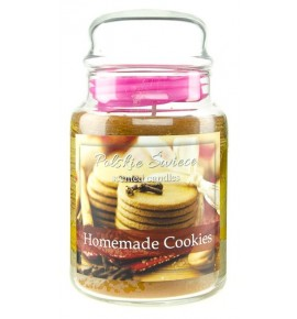 Homemade Cookies - świeca zapachowa w dużym słoju 600g