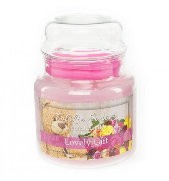 Lovely Gift - świeca zapachowa w średnim słoju 430g