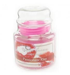Passionate Kiss - świeca zapachowa w średnim słoju 430g