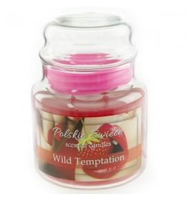 Wild Temptation - świeca zapachowa w średnim słoju 430g
