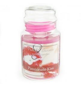 Passionate Kiss - świeca zapachowa w dużym słoju 600g