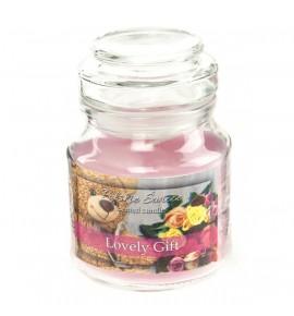 Lovely Gift - świeca zapachowa w słoiczku