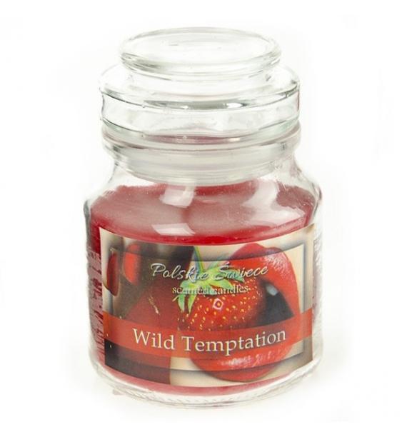 WILD TEMPTATION - świeca zapachowa w słoiczku