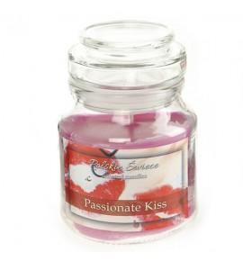PASIONATE KISS - świeca zapachowa w słoiczku