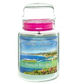 French Riviera - świeca zapachowa w dużym słoju 600g
