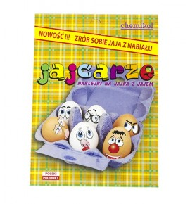 Pisanki - naklejki na jajka (jajcarze)