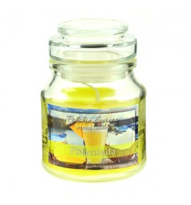 Pinacolada - świeca zapachowa w słoiczku