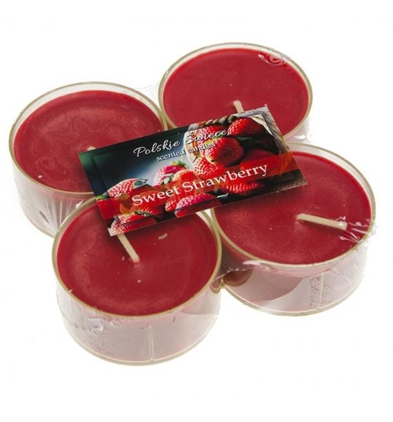 Sweet Strawberry - SŁODKA TRUSKAWKA  MAXI 4szt. - podgrzewacze zapachowe