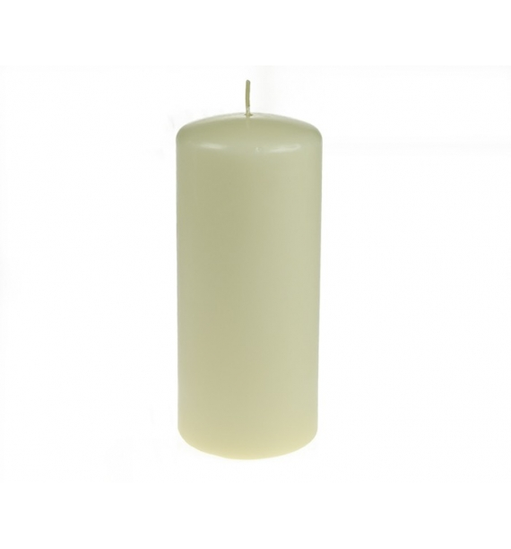 WALEC 80/180 ECRU - świeca klasyczna