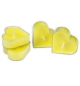 Serce Mint Cream 4szt. - podgrzewacze kształty zapachowe