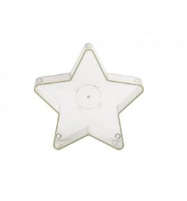 Gwiazdka - naczynie poliwęglanowe do świec (5 szt.)