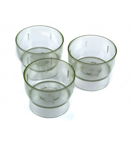 Świecznik - naczynie poliwęglanowe do świec (10 szt.)